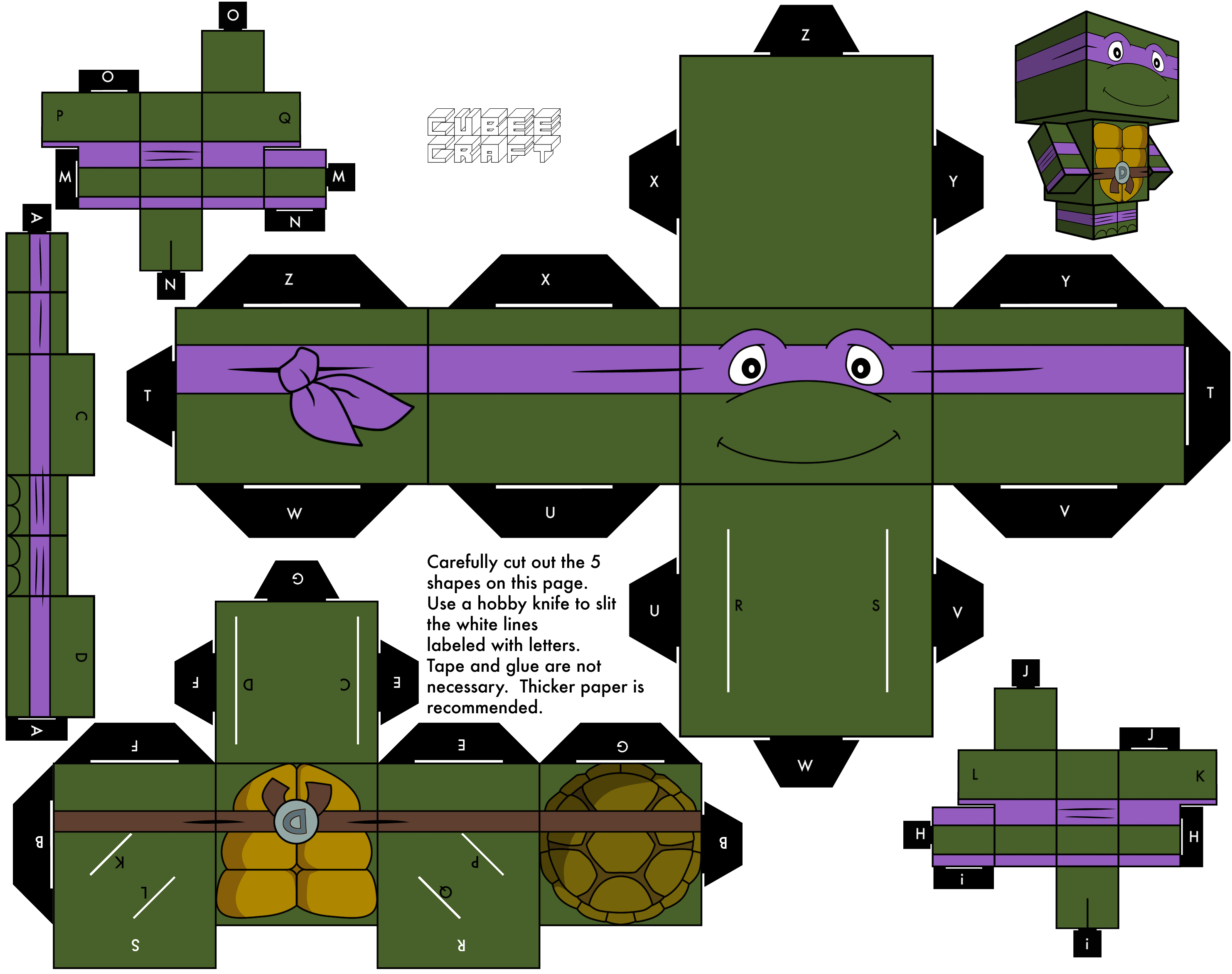 1988 Donatello by cubeecraft