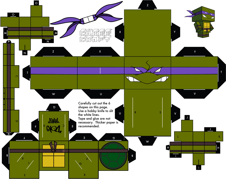 2003 Donatello by cubeecraft