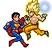 Goku Vs Superman Thanks for the 3.5K Watchings by pencilsymbiosis