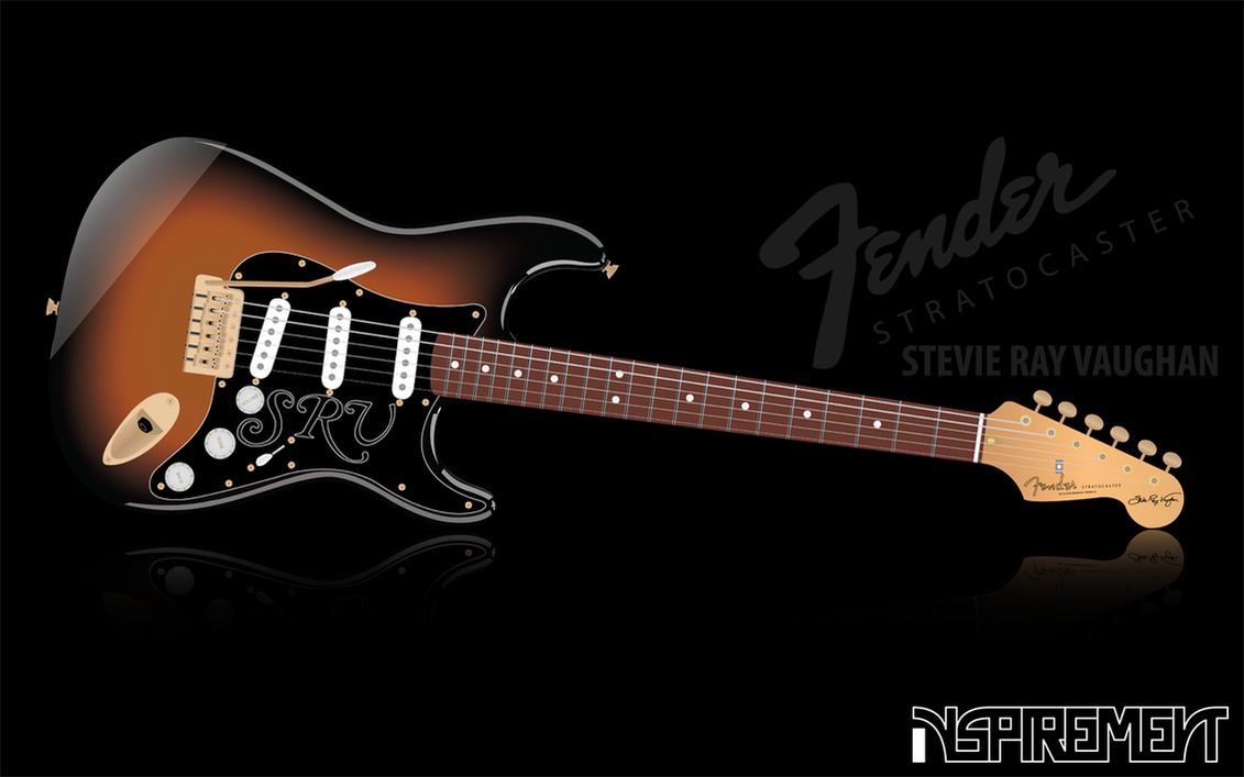 Fender stratocaster stevie ray by inspirement on deviantart - Fender wallpaper ...