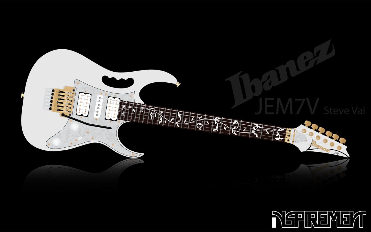 Ibanez Guitar Wallpaper: Ibanez JEM 7V By Inspirement On DeviantArt