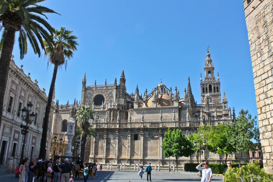 Catedral Sevilla 1 by ThugDante