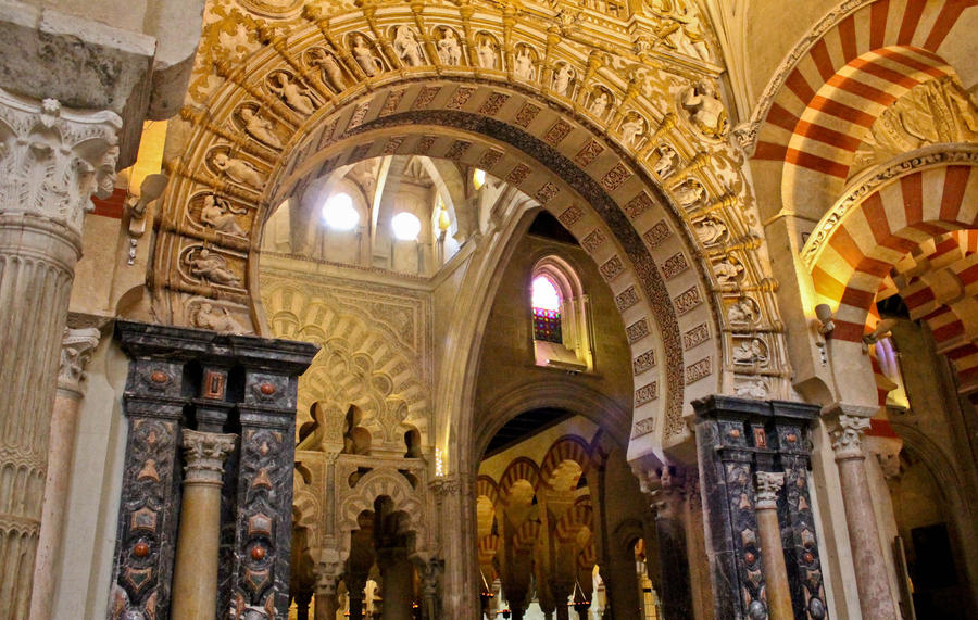 Interior mezquita de cordoba 4 by thugdante on deviantart for Mezquita de cordoba interior