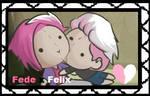 FNAFHS stamp Fede x Felix #FNAFHS