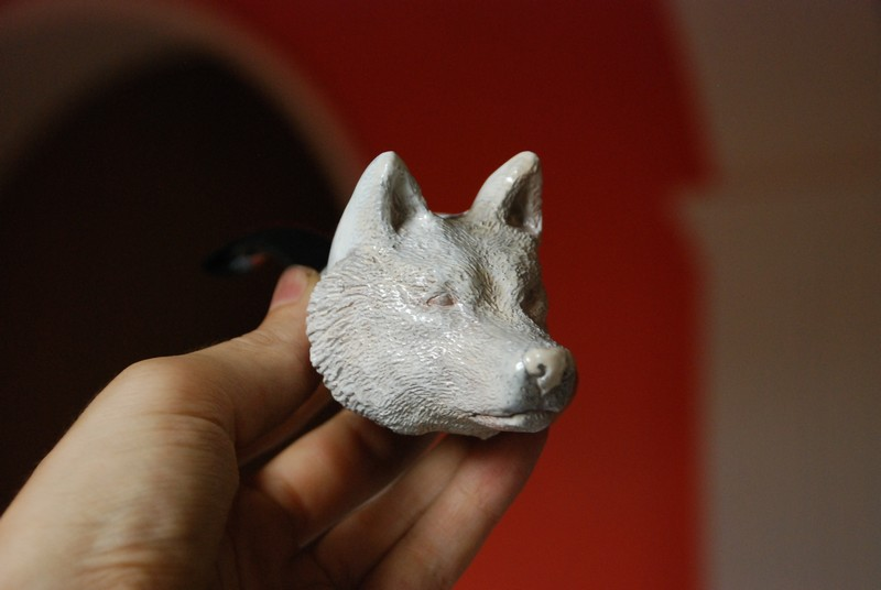 Wolf Chimney Vent ~ Wolf pipe wip by larijone on deviantart
