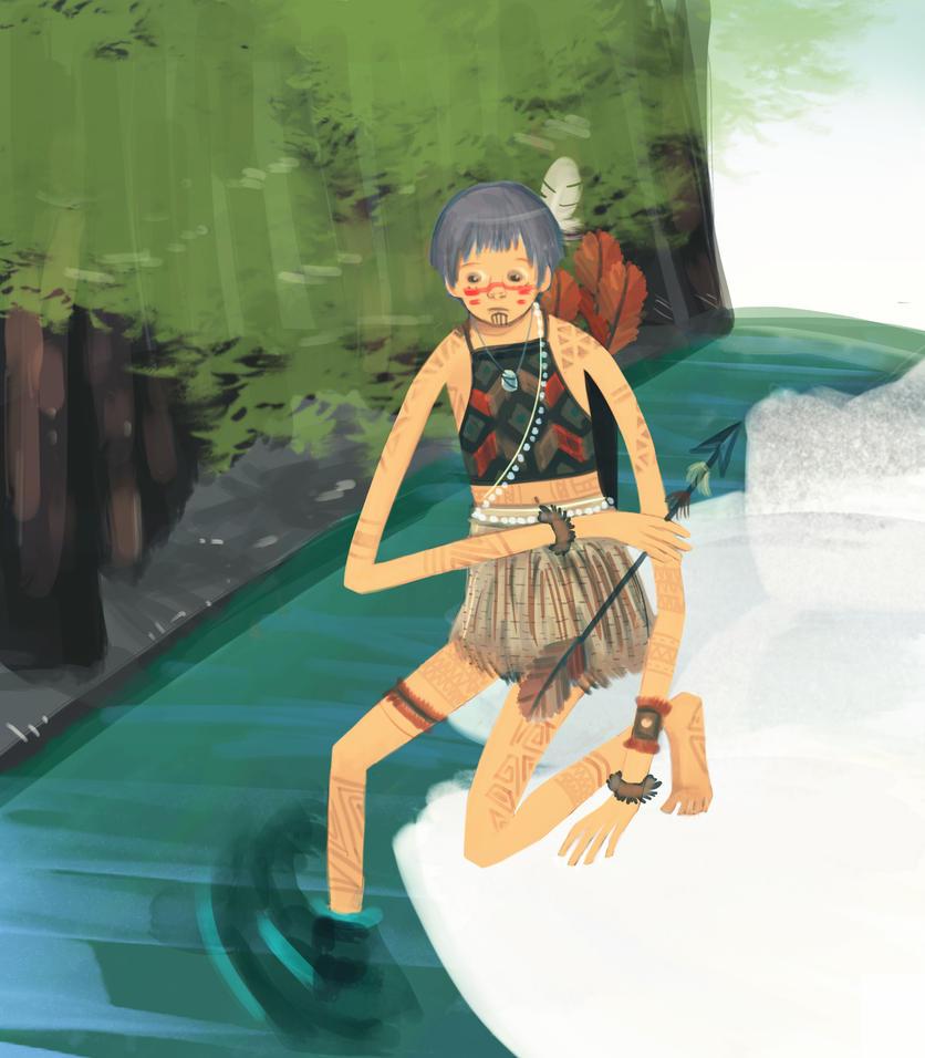 Maori Boy by radiangi