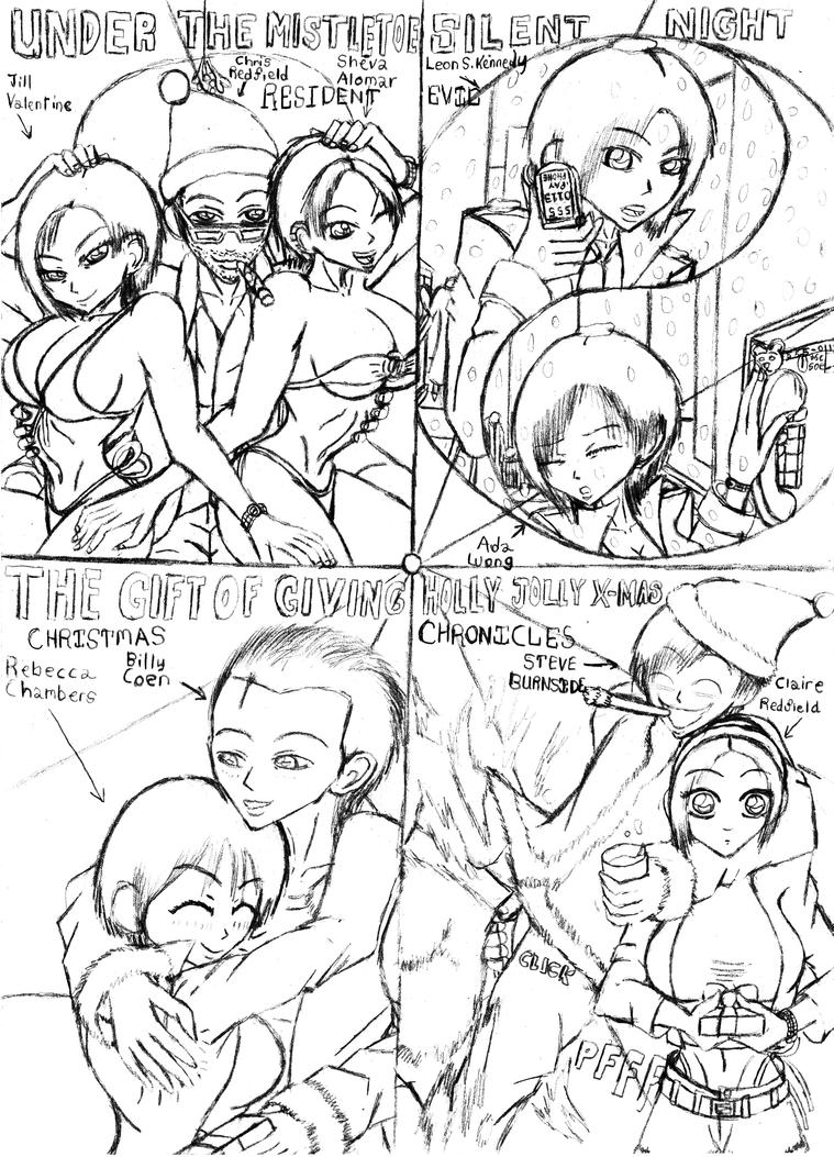 Resident evil-Xmas Chronicles by BIGMANSCO