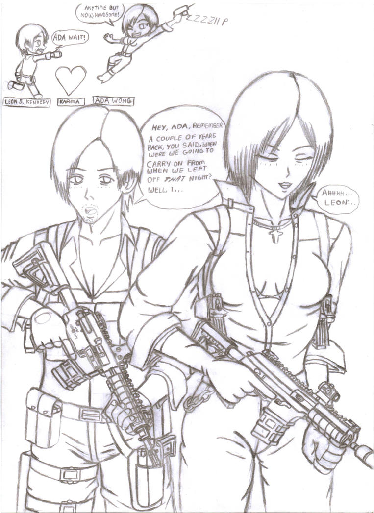 ada wong coloring pages - photo#21