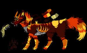 Luxor Malkara Loricata Intrarin Wolf Ref by Sparkledoggie