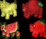Fruit Dog Adoptables