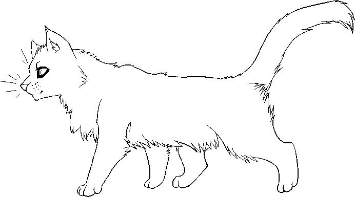 F2U Kitty Lineart by Sparkledoggie