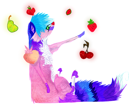 Hier Ist Kunst! [FREE RAFFLE: see post #3] Fruit_orbit__by_sparkledoggie-d83p4zn