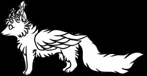 F2U Mystic Fox Base by Sparkledoggie