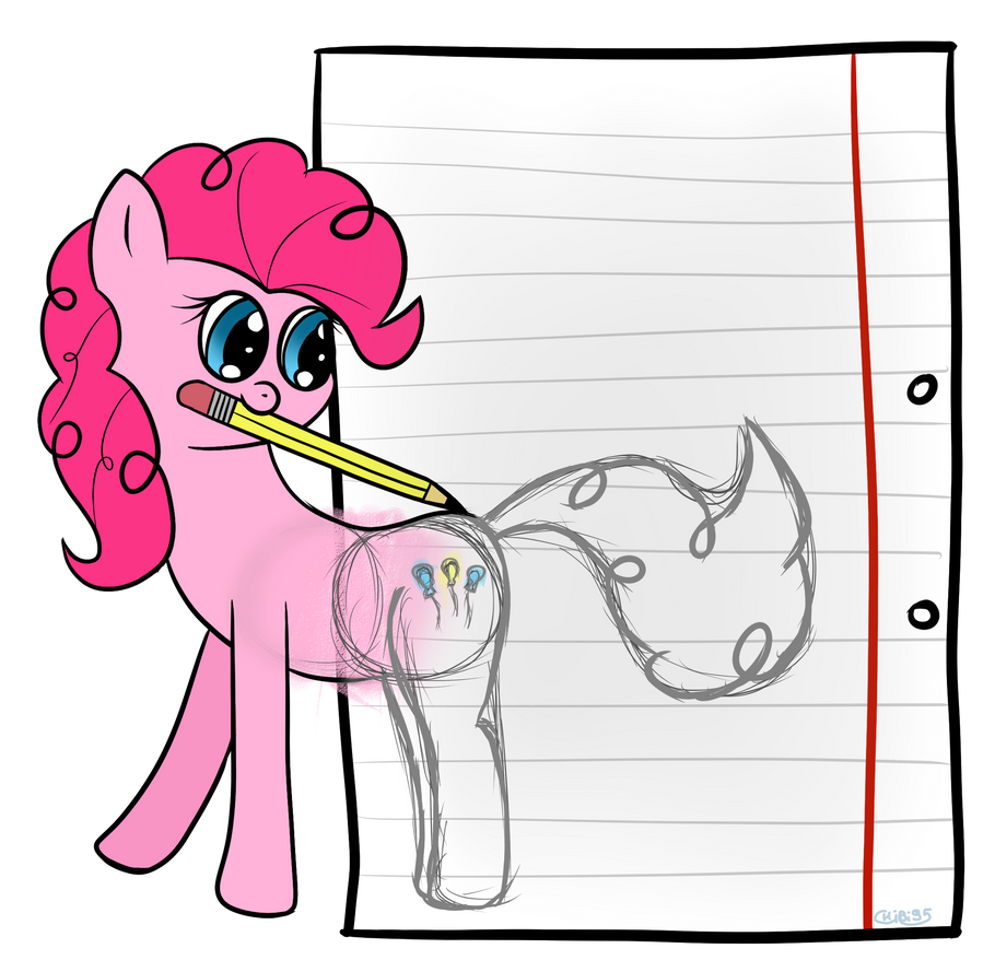 what happens when you don't finish your drawings by chibi95