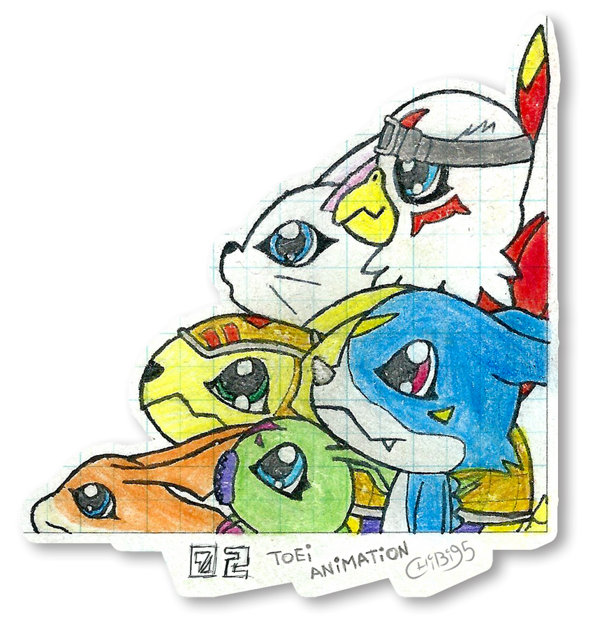 Digimon Adventure 02 by chibi95