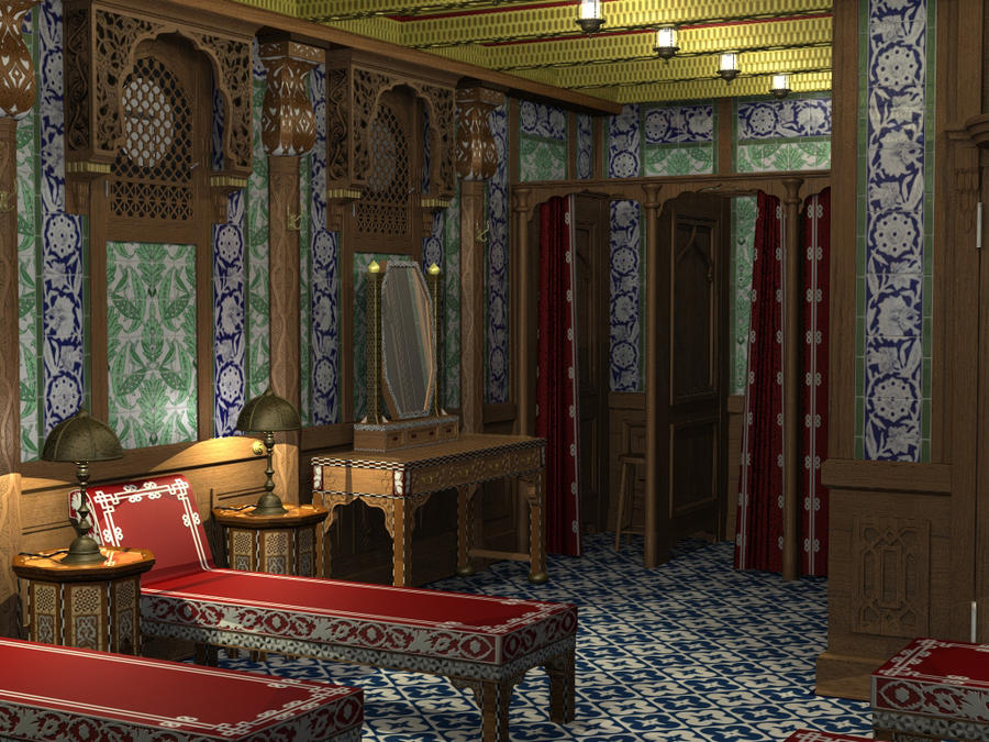 Titanic's Turkish Bath by parkseiii