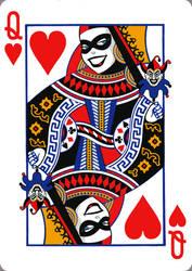 Harley Quinn card by parkseiii
