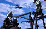 USS Arizona CG WIP