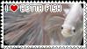 I Love Betta Fish Stamp by KingKatze