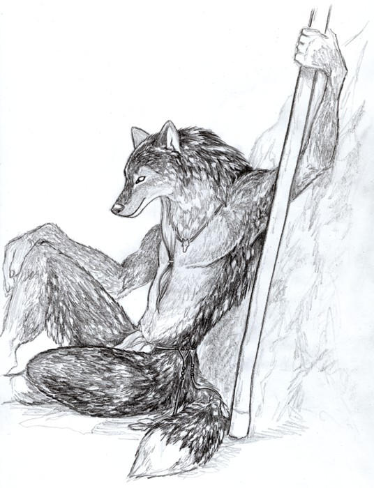Black-Wolf by Wolfsjal