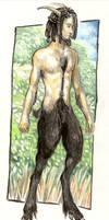 satyr by Wolfsjal