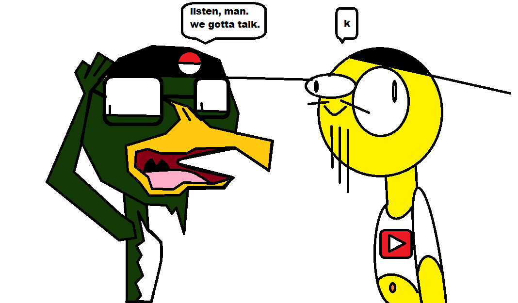 My experience with YouTube as of now. by birdtendo