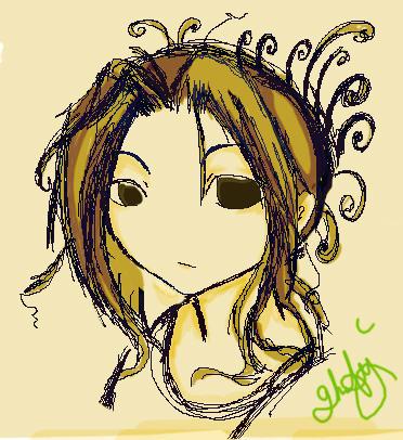 self scribble by ghost-guy