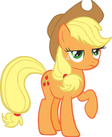 Applejack Vector by scrimpeh