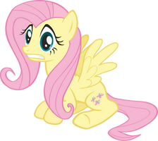 Fluttershy Vector by scrimpeh