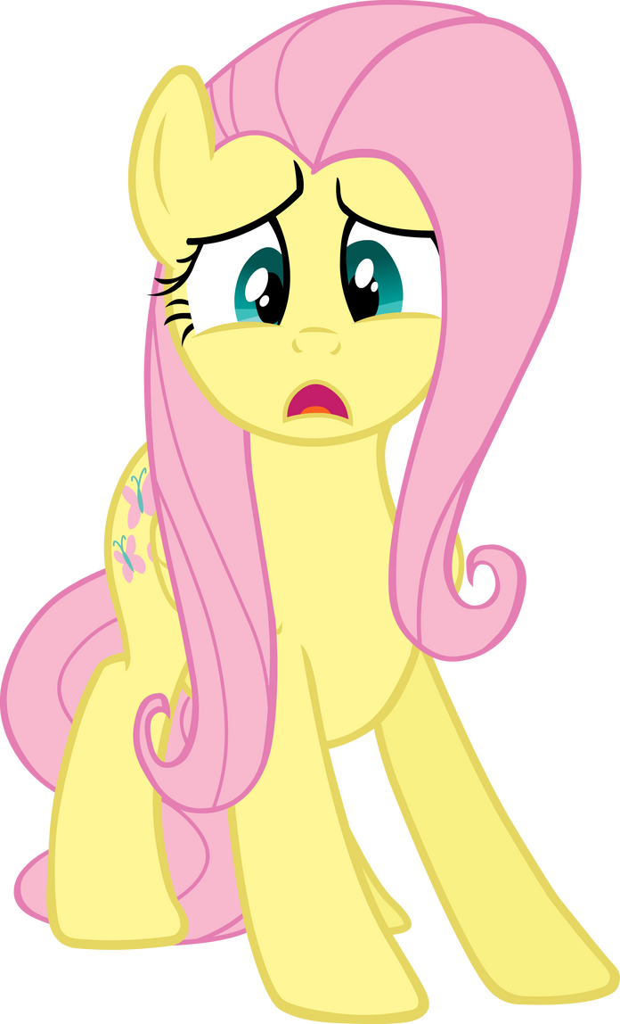 Fluttershy Vector 2 by scrimpeh on DeviantArt