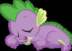 Sleeping Spike Vector