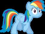 Rainbow Dash Vector 2
