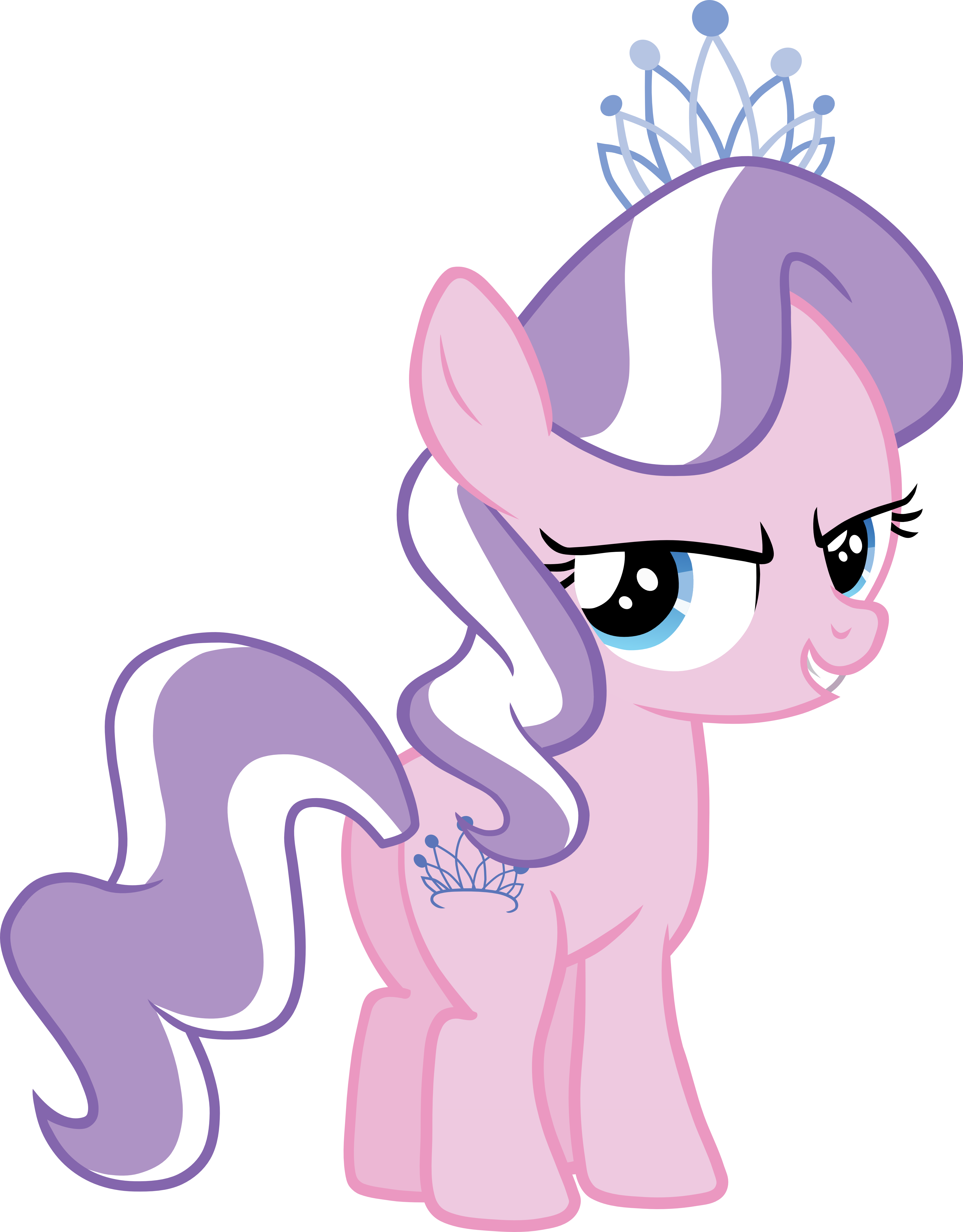 Diamond Tiara Vector by scrimpeh