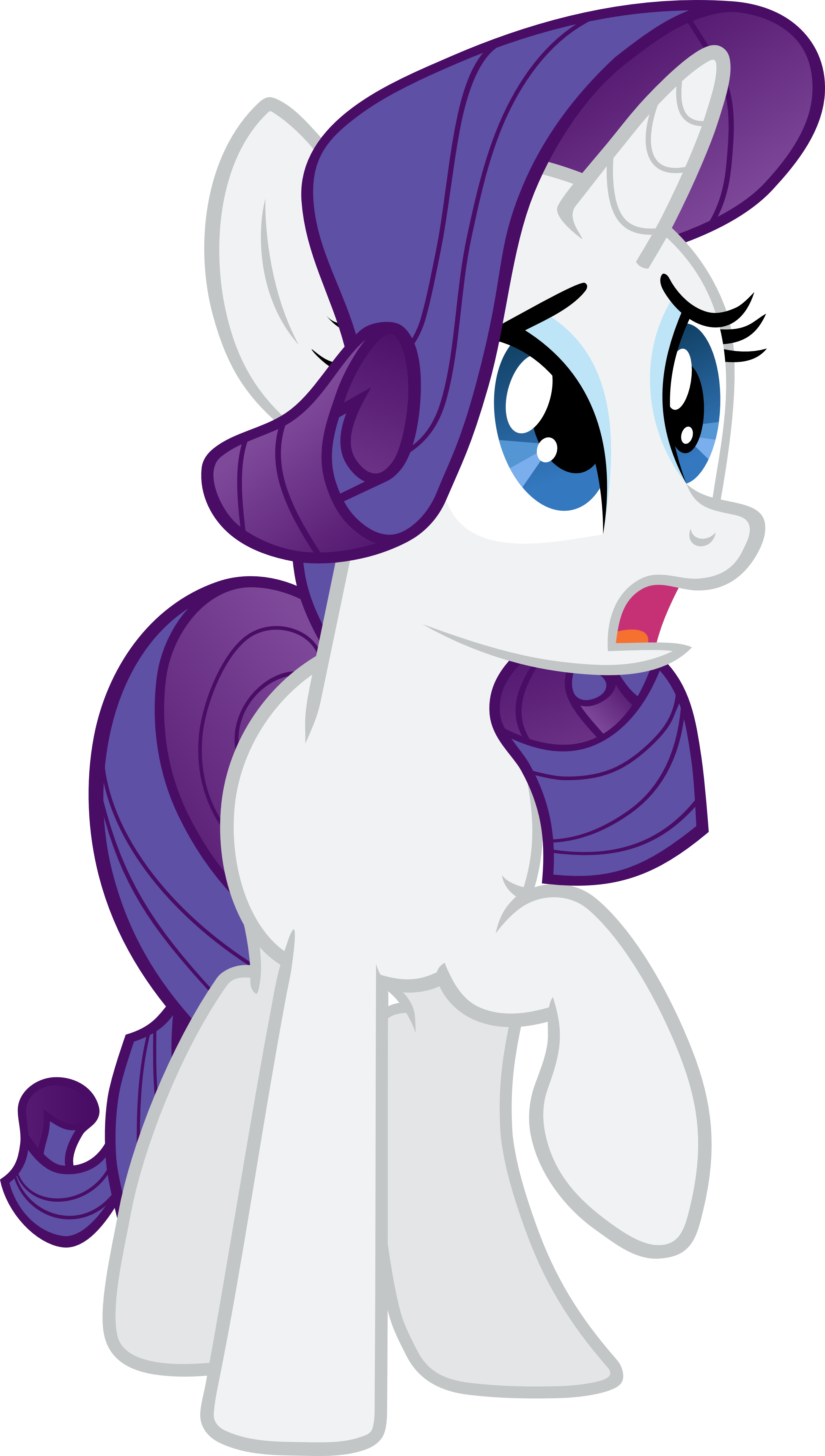 Rarity Vector 2 by scrimpeh