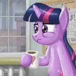 Twilight Sparkle - Another day at Work