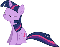 Sitting Twilight Sparkle Vector by scrimpeh