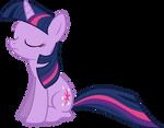 Sitting Twilight Sparkle Vector