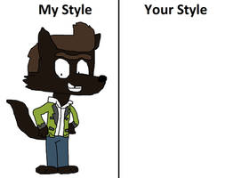 Wolf Allan in your Style Meme