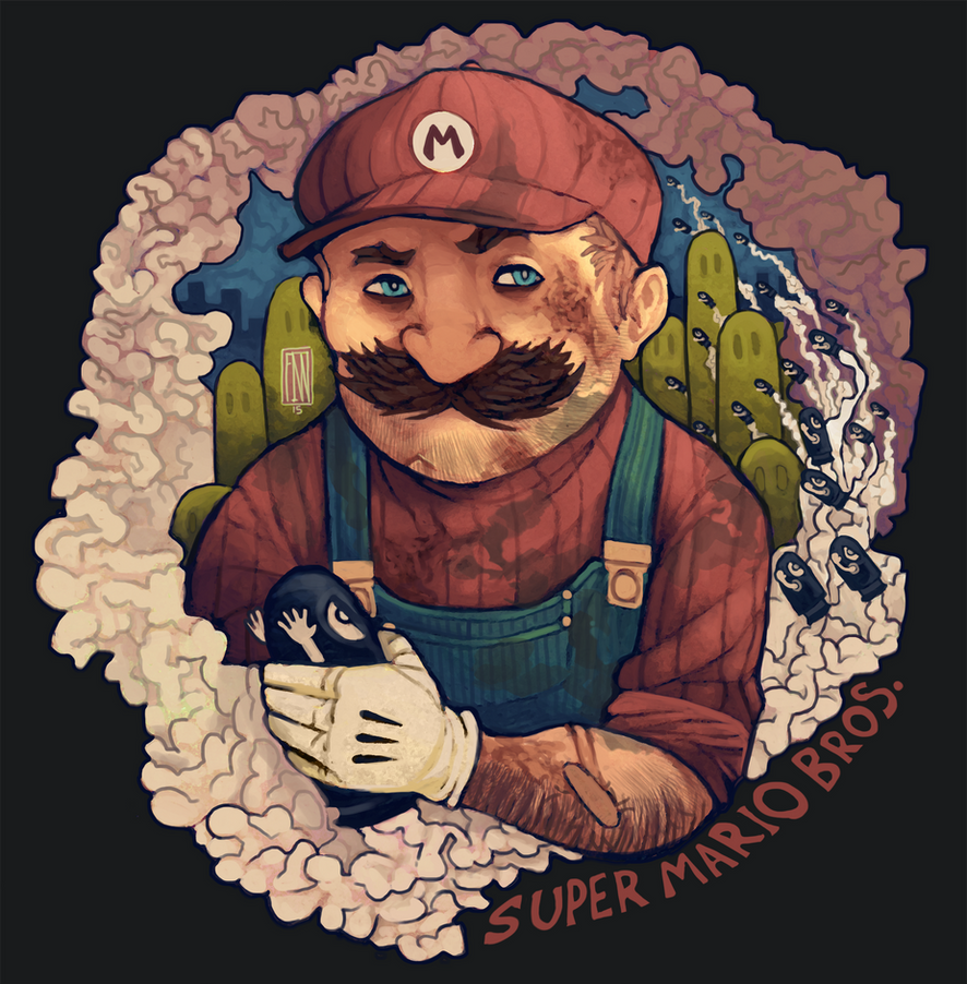 Mario the Plumber by FinnPants
