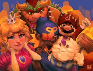 Super Mario RPG by FinnPants
