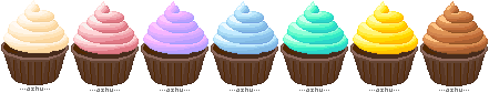 chocolate pixel cupcakes