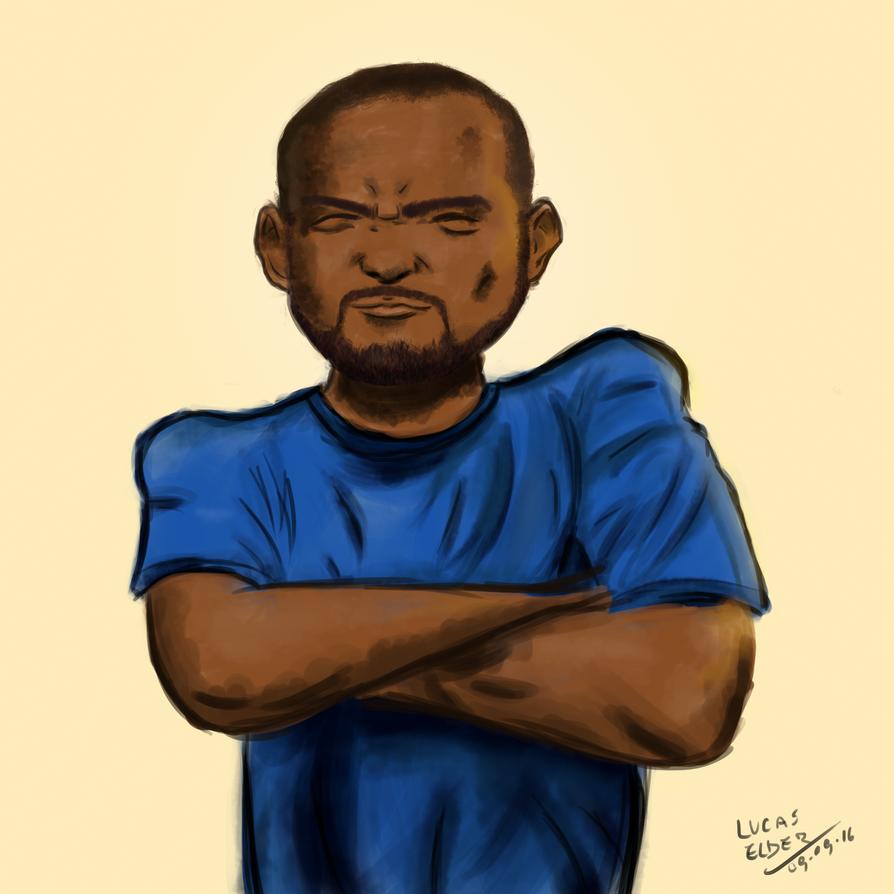 MussumAlive - Caricatura by LucasElder
