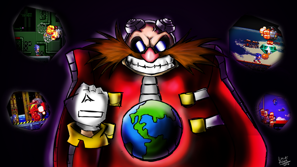 Eggman - I hate to be defeated by LucasElder