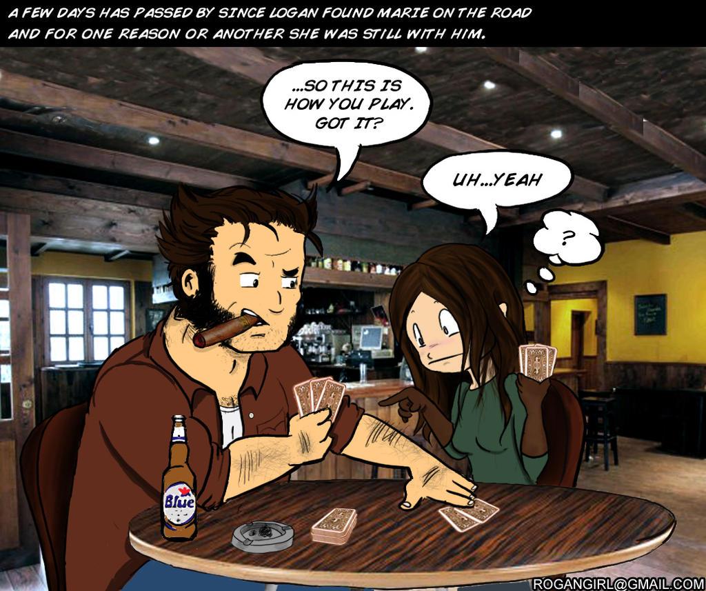 Rogan Logan-Marie comic pt. 4 by yeyforme