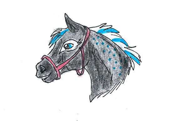 Prize Art: FoalS April Show - Runner Up Filly by Flemish-Fields