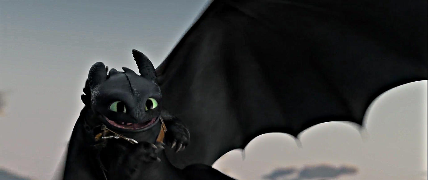 Adorable Toothless by lucy-holland