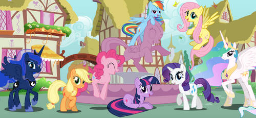 Welcome in Ponyville