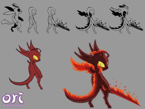 Concept art - Fire