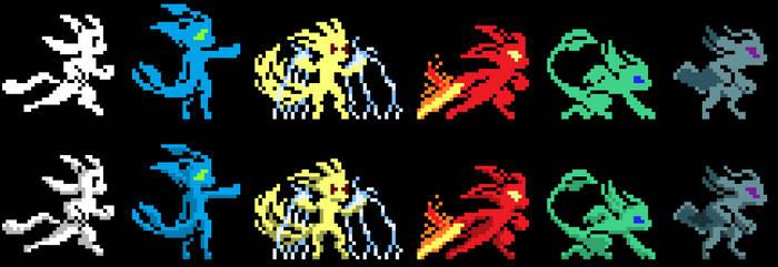 Pixel Spirits