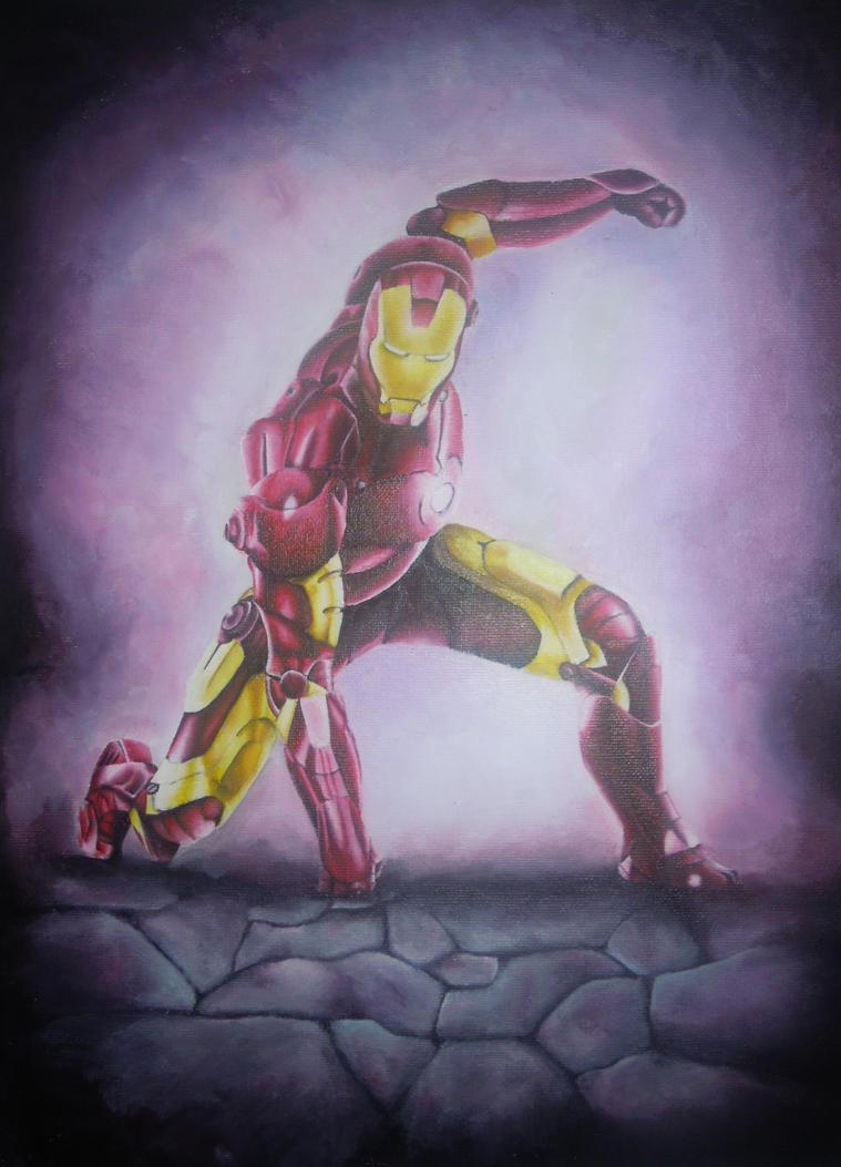 Iron Man by IzEllie